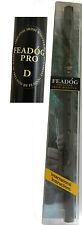 Feadog Professional Irish  Penny Tin whistle Black D 8077B
