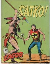 Zagor  96 SATKO  del 3 /  1969 Originale 45  Lire 200