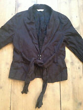 Full Circle Black Smart Casual Jacket or Blazer. Size Small / 10