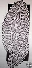 7499 Vintage Mail Order LACY PINEAPPLE OVAL Pattern to Crochet (Reproduction)