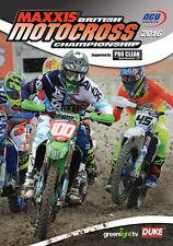 British Motocross Championship 2016 Review DVD