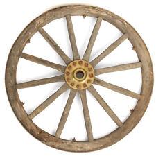 Original British Victorian Era Cannon Wagon Wooden Wheel- 36 Inch Diameter