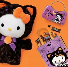 Hello Kitty Halloween 2019 Greeter 3Pc Set SOLD OUT CVS Exclusive #223391