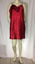 Vintage Red Chemise Satin XL