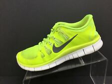 Nike Free 5.0 Womens Neon Yellow Running Casual Shoes Ladies Size 9.5