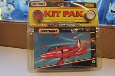 "MATCHBOX BAe HAWK T.Mk1/51 ""THE RED ARROWS"" NEW & SEALED 1/72 Inc paints & Brush"