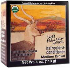 Natural Hair Color & Conditioner Medium Brown, Light Mountain, 4 oz