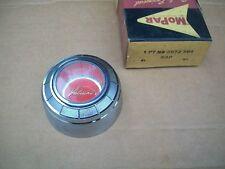 NOS MoPar 1960 Valiant Steering Wheel Horn Button