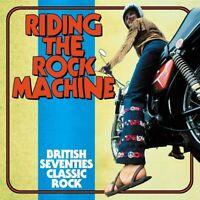 Riding The Rock Machine: British Seventies Classic Rock - Various (NEW 3CD)