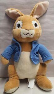 Bensons Trading Beatrix Potter Peter Rabbit in Blue Coat Plush Soft Toy 30cm