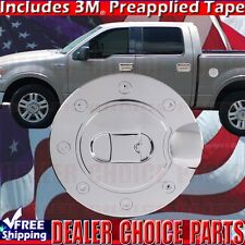 2004 2005 2006 2007 2008 FORD F150 F-150 Chrome Gas Door Cover Overlay Fuel Cap