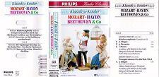 Leichte Klassik Musik für Kinder,Folge 2 (1993) MC Kassette Mozart Haydn . u121