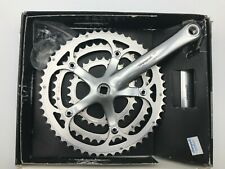 Vintage Campagnolo Racing T Triple 9s Crankset 175mm 30-42-52