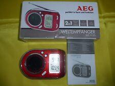 AEG Taschenradio Weltempfänger WE 4125