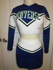 Sexy Cheerleader Uniform Outfit Cheer Competition Style Adult M 34/28 UNIVERSE