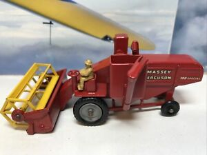 Matchbox Major No5 Massey Ferguson Combine Harvester Good Condition