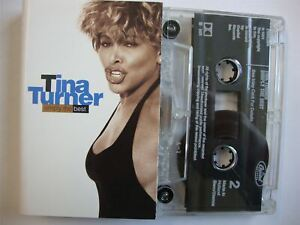 Tina Turner - Simply The Best - 18 Greatest Hits Cassette Tape