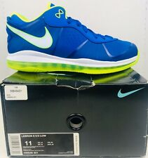 Nike Lebron VIII 8 V/2 Low Sprite Men's Size 11 456849-401 New Box South Beach