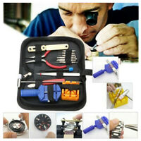 16pcs Watch Repair Tool Kit Link Remover Spring Bar Tool Case Opener Tool Set