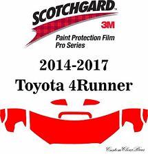 3M Scotchgard Paint Protection Film Pro Serie 2014 2015 2016 2017 Toyota 4Runner