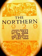 """1929 OHIO NORTHERN UNIVERSITY COLLEGE YEARBOOK """"Northern""""~Very fine, used"""