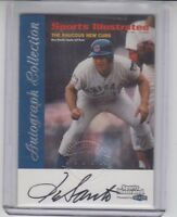 1999 Sports Illustrated Signature On Card Autograph Ron Santo Chicago Cubs HOF