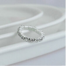STACKABLE RHINESTONE STRETCH RING