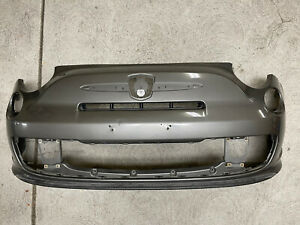 12-17 Fiat 500 Abarth Front Bumper Grille Signal Genuine OEM Grigio Metallic