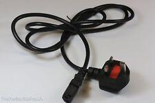 3 pines 1.8m RU Negro Cable de Red iec-320 C13 para televisores,