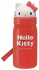 [Hello Kitty] expression die cut straw bottle flask Sanrio Diecast lunch series