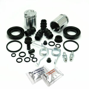 VW Golf MK4 (97-06) 2x Rear Brake Caliper Repair Kits Pistons & Springs PK585B-2