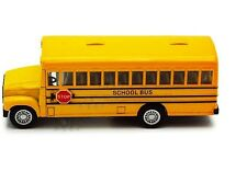 Yellow School Bus Diecast Model pull back and go action 5 inch #5107