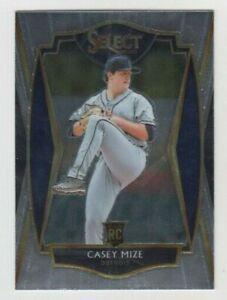 Casey Mize 2021 PANINI SELECT PREMIER LEVEL ROOKIE CARD #111 DETROIT TIGERS