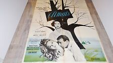 CLIMATS ! Emmanuelle Riva Marina Vlady affiche cinema 1961