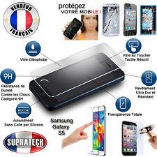 Protection d'Ecran en Verre Trempé Contre les Chocs pour Samsung Galaxy S5 G900