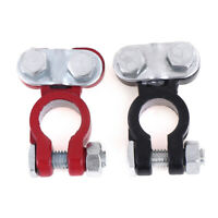 2pcs car battery terminal clamp clips disconnect switch screw connector