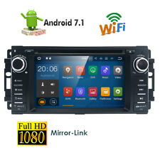 Car DVD Player GPS Radio Stereo Navigation Android  for Jeep Dodge Chrysler