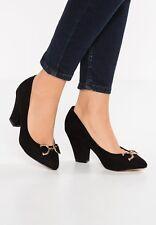 Dorothy Perkins JACKY Classic Heels Black UK 7 EU 41 LN27 25