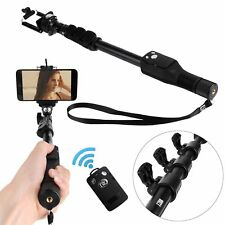 Bluetooth Control Selfie Stick Monopod for iPhone Samsung Galaxy S8 Gopro 4 5 6