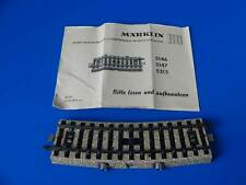 MARKLIN H0 - 5213 - Curved Control Track Section - M Track // EXC