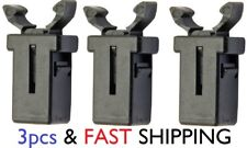 3x prong 2 claw grab lock buckle bin lid brabantia addis retainer hook plastic