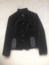 AKRIS PUNTO Luxury Brown Velvet Button Up Jacket Blazer Size US 10