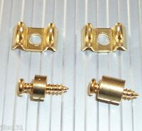 NEW  2 GUIDE CORDES Gotoh style - gold  - pour guitare