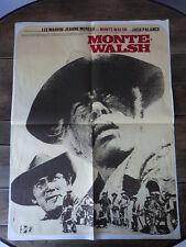 AFFICHE CINEMA (60x80) MONTE WALSH Jeanne Moreau Lee Marvin (G14)