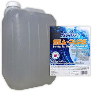 CARIBSEA SEA-PURE SEAWATER 16.6L / 4.4 Gal RO WATER MARINE AQUARIUM FISH TANK