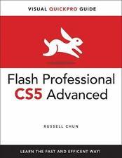 Flash Professional CS5 Advanced for Windows and Macintosh: Visual QuickPro Gui..