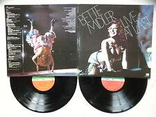 "2 LP BETTE MIDLER ""Live at last"" ATLANTIC SD 2-9000 USA §"