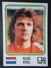Panini 79 Ruud Krol Niederlande WM 74 World Cup Story