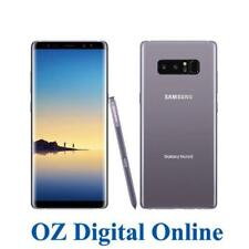 "NEW Samsung Galaxy Note 8 Dual Sim N950 128GB Grey 4G 6.3"" Unlocked Phone 1YrWty"