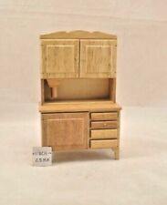 DOLLHOUSE MINIATURES WALNUT WASH STAND #T6453